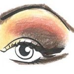 Stage Makeup Eyes Step 4