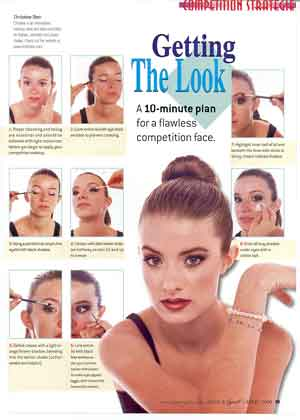 Christine Dion Dance Spirit Article Stage Face