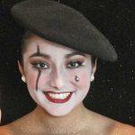 Harlequin Makeup Look