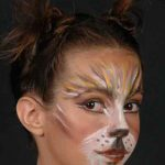 Stage Makeup Cat Face