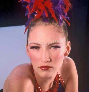 Rhinestone Stage Makeup
