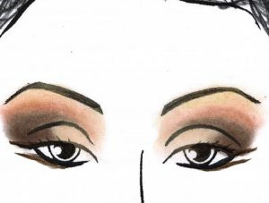 a recital makeup eyes step liner